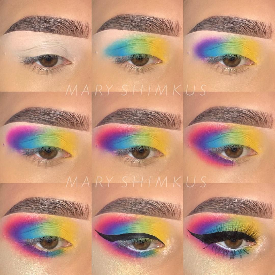 N A D I A Glambynadica Instagram Photos And Videos Rainbow