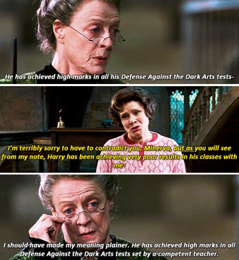 Harry Potter Mcgonagall And Umbridge Hunger Games Harry Potter