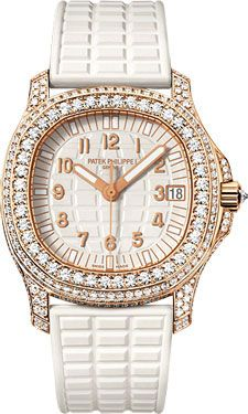 6609f2fe81f Patek Philippe Aquanaut Ladies Rose Gold (Style No  5069R-001) from  SwissLuxury.Com