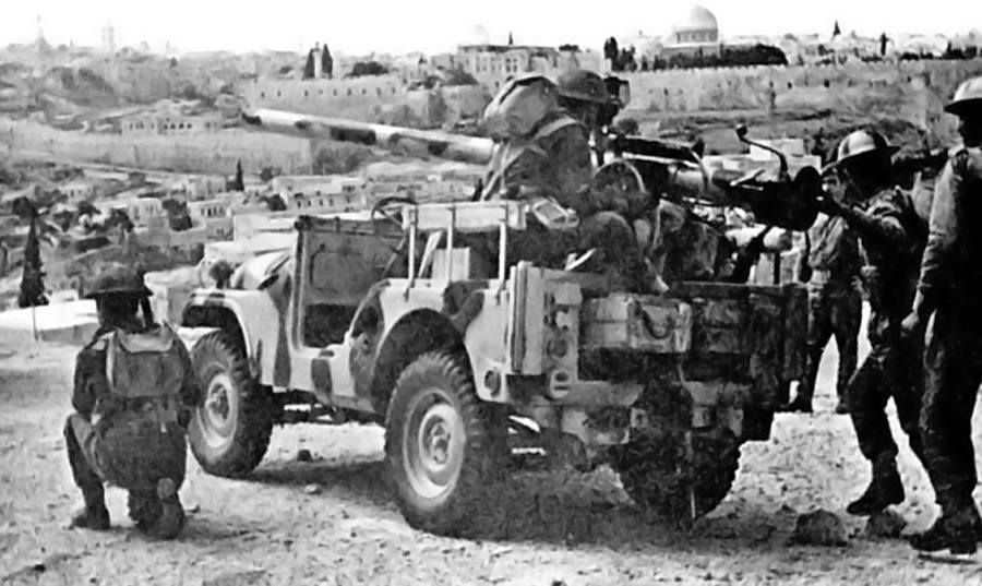 Jordanian Army M-38A1 ...M Day Army