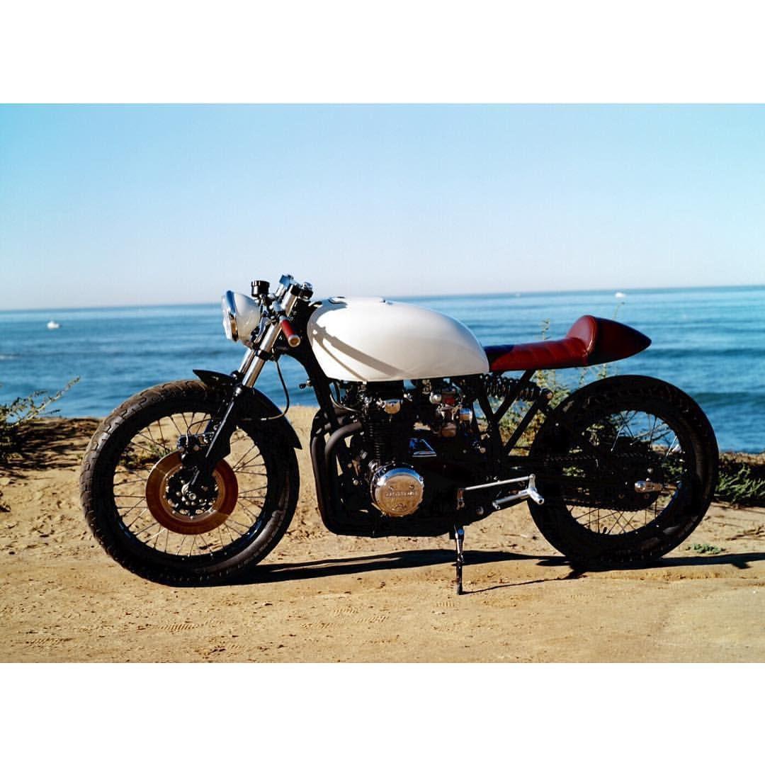 AlchemyMotorcycles Honda CB550 Caferacer Caferacersofinstagram Croig Bobber Tracker Chopper Brat Custommotorcycle Monoshock Mediumraw