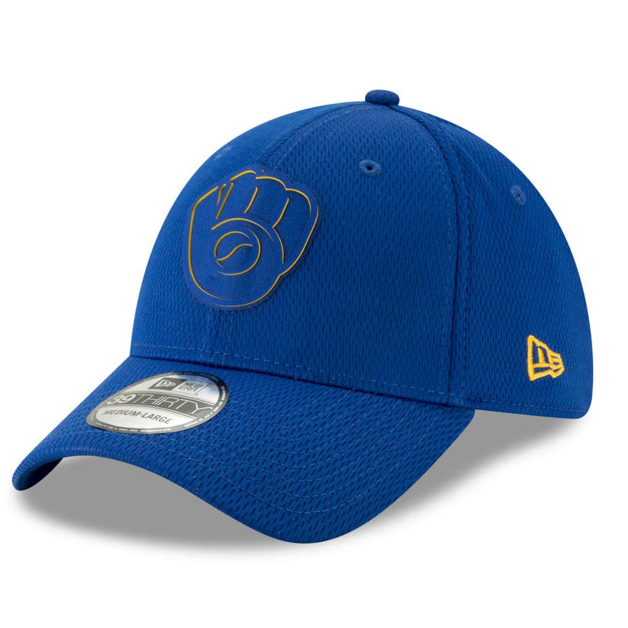 designer fashion 1ce62 9625d Men s Milwaukee Brewers New Era Navy 2019 Clubhouse Collection 39THIRTY  Flex Hat, Your Price   29.99