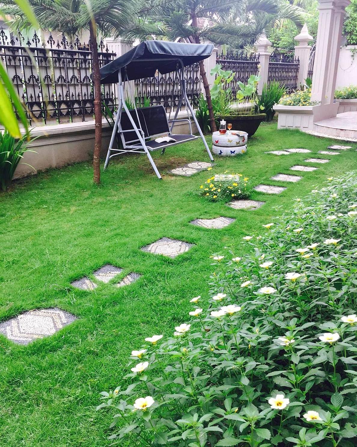Taman Minimalis Depan Rumah Type 36 Terbaru Gardening
