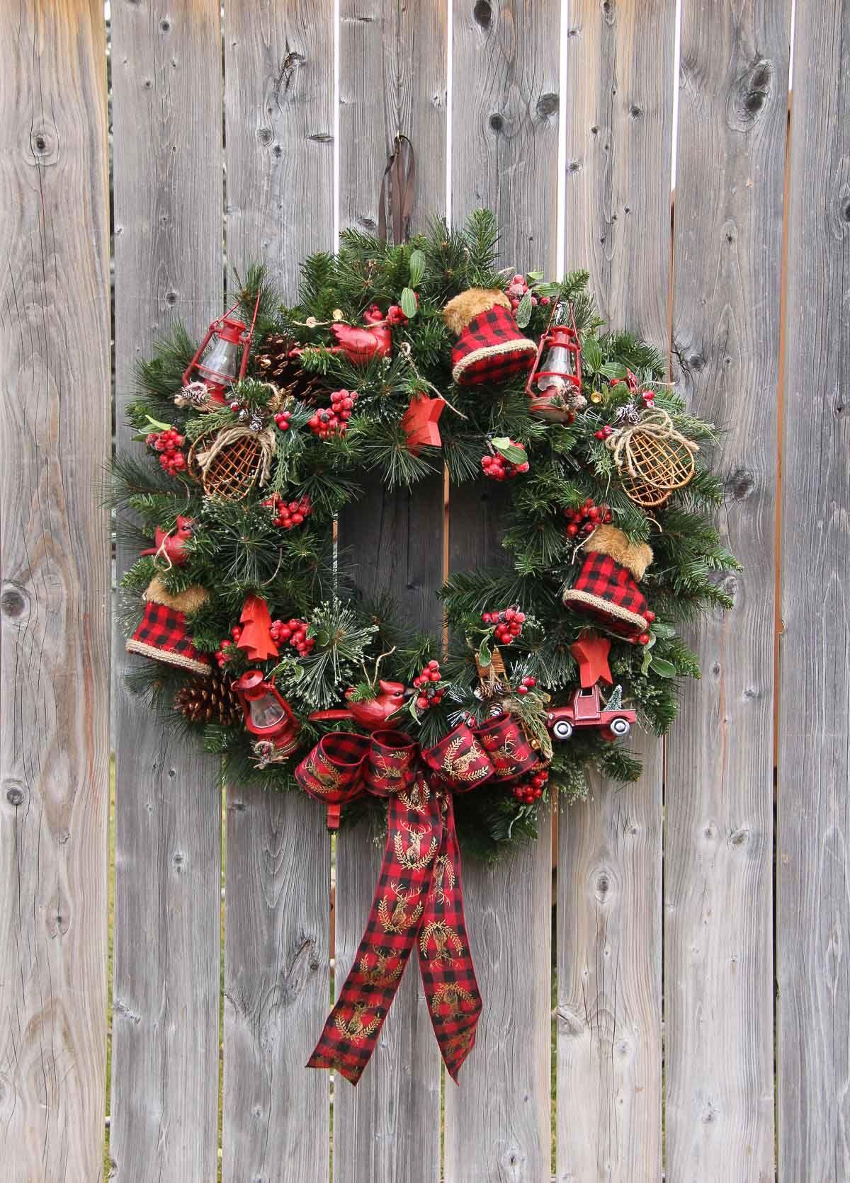 Holiday decor. Christmas decorations. Christmas tree