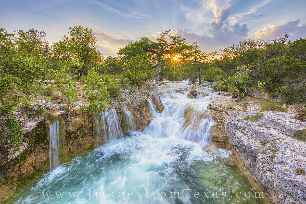 Texas Hill Country Texas Waterfall Texas Landscapes