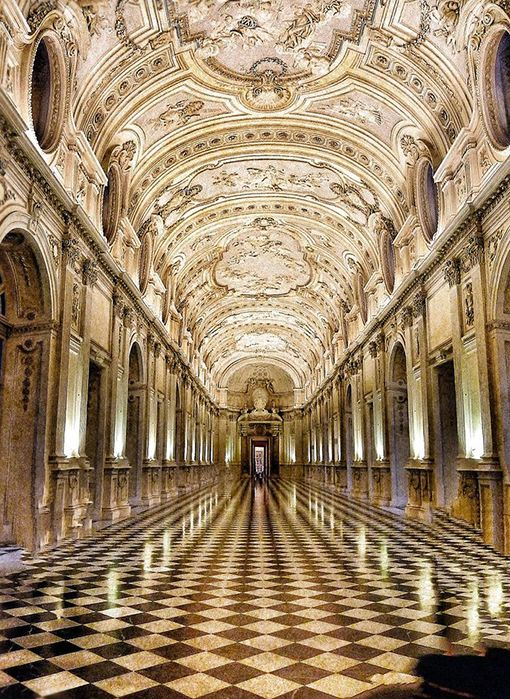 Beautiful Places... The Royal Palace of the House of Savoy in Turin, Italy, photo by midnightineurope.