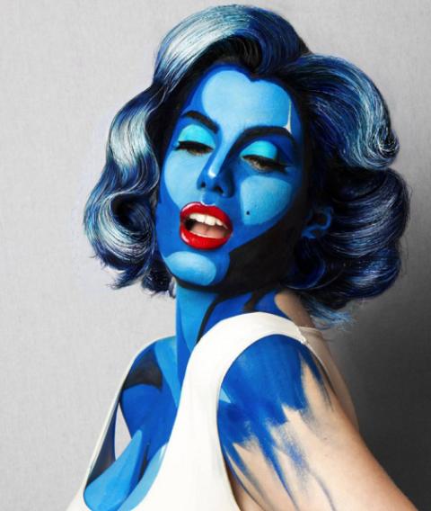 Instagram\'s Best Halloween Makeup Inspo | Pop art, Halloween ...