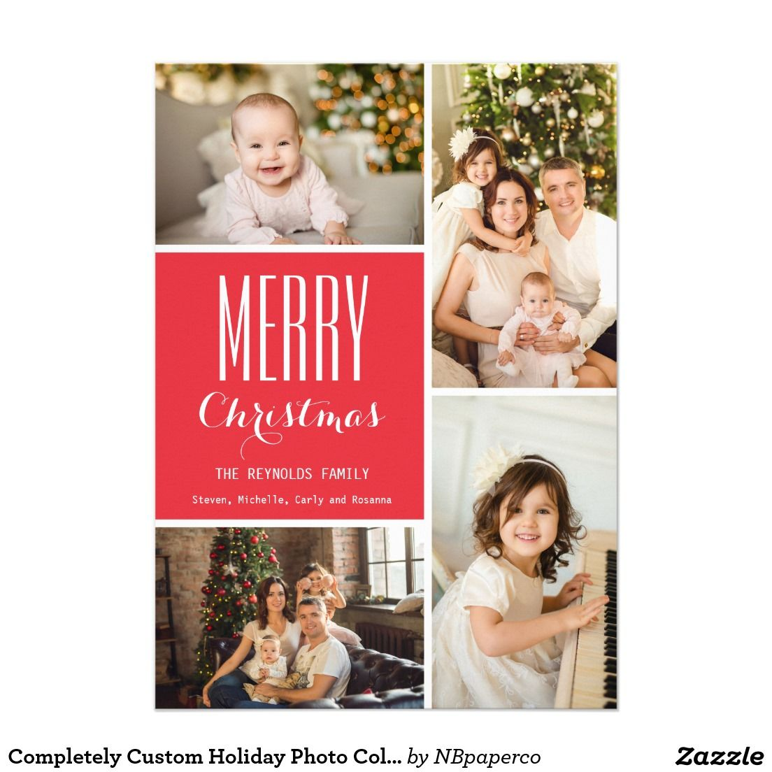 Send Holiday Cheer This Season With A Family Photo Collage These
