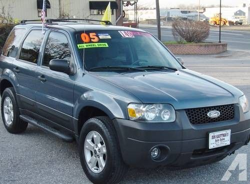 2005 Ford Escape Xlt 4x4 Blue Like New All Wheel Drive Ford