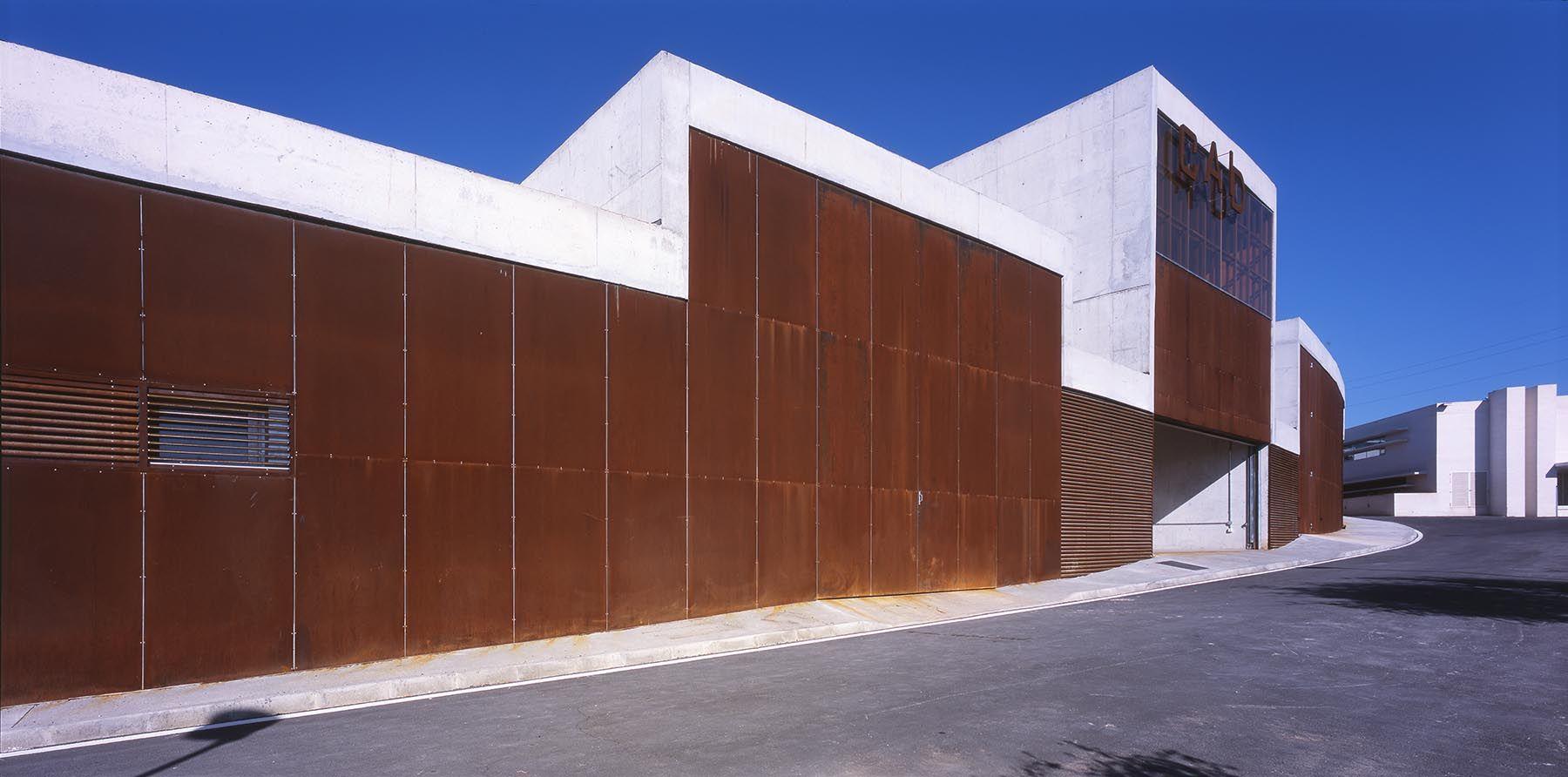 Martin lejarraga arquitecto centro de apoyo a la for Arquitecto universidad