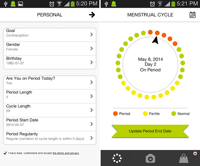 The  Best Period Tracker Apps For Ios  Android  Android