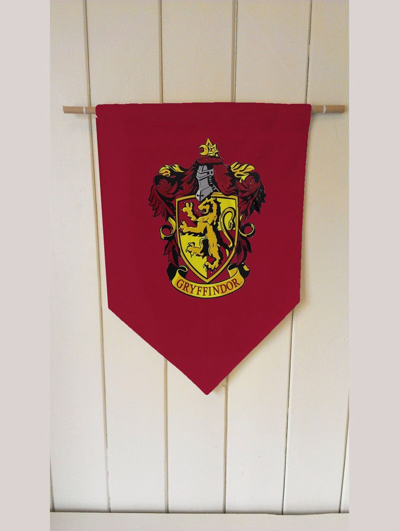 Superior Harry Potter Gryffindor House   Wall Hanging Banner Flag Fabric Pennant  Cotton Home Decro Decro By ThisShopReallyRocks On Etsy ...