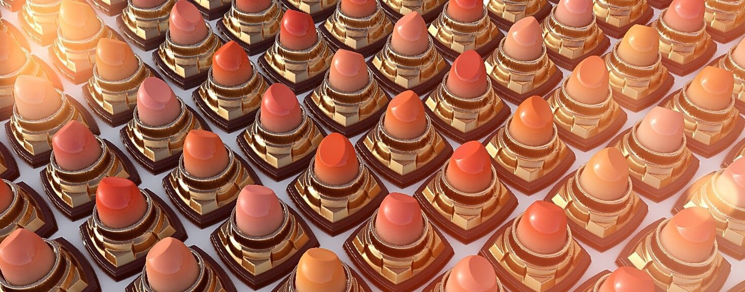 Photo of Chinese Valentine's Day gift by Shuo ChenHeyhere is material lipstick texture fo…