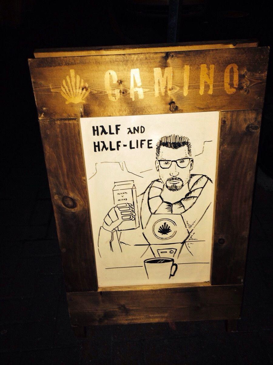 Coffee Shop HalfLife via Reddit user teeejaaaaaay Half