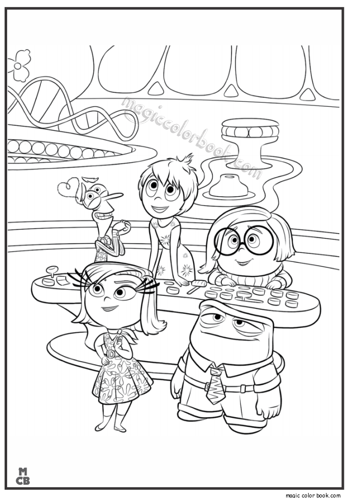 Inside Out Coloring Pages Free Printable 38 Magic Color Book Inside Out Coloring Pages Cartoon Coloring Pages Coloring Books