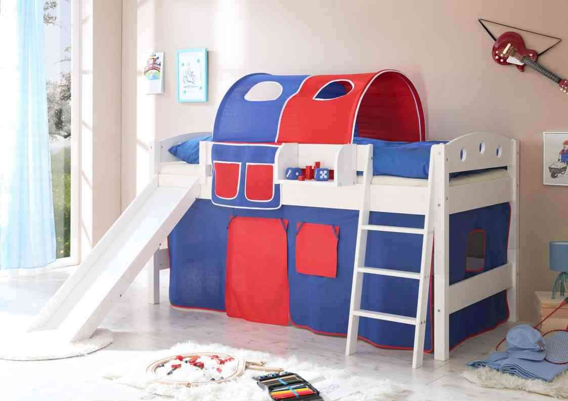 ceramic floor children bedroom sets with painted wall design and