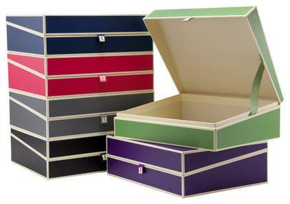 Quality made by Semikolon STORAGE BOX + + Private Document Box anthrazit
