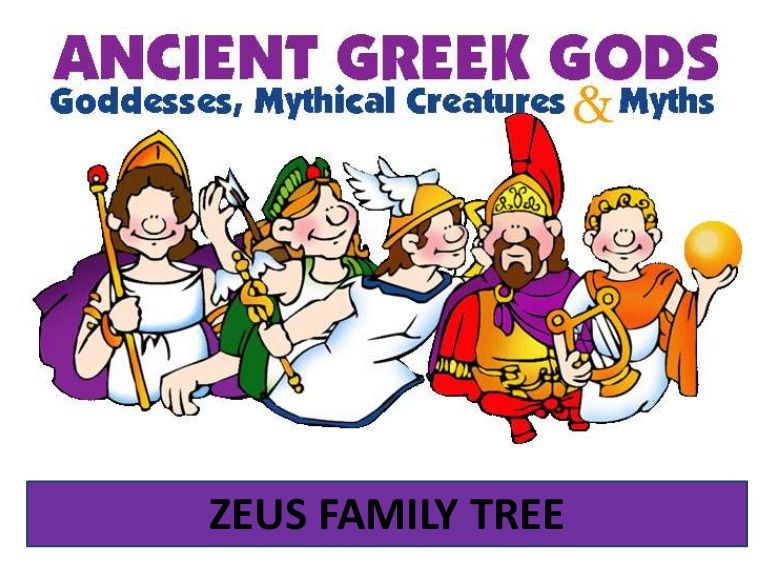 ZEUS FAMILY TREE | Greek Mythology | Pinterest | Trees, Greek gods ...