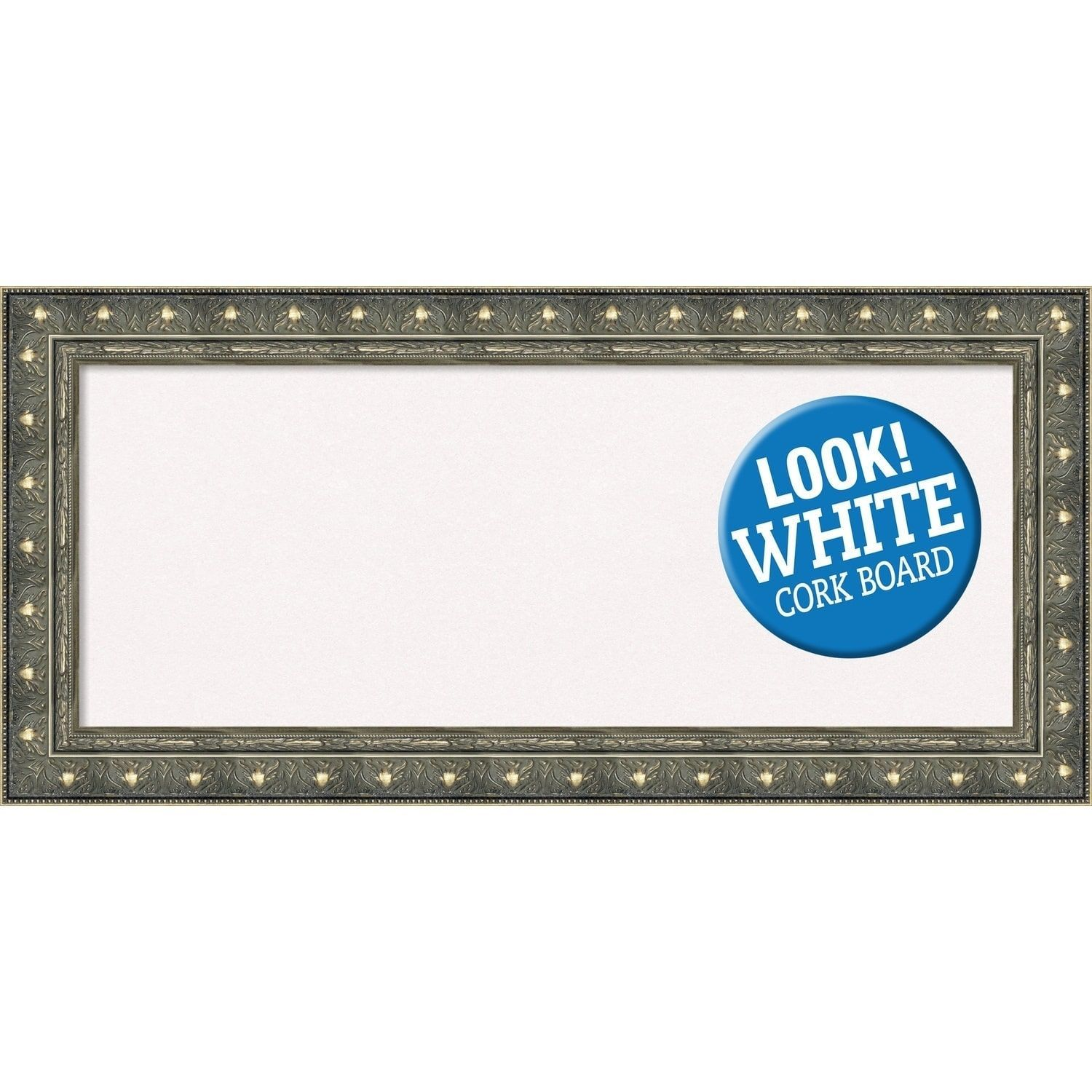 Amanti Art Framed White Cork Board, Barcelona Champagne (small - 20 ...