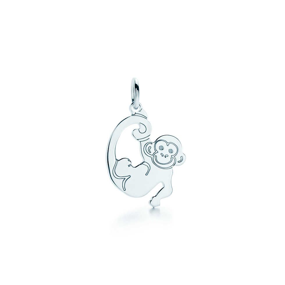 378610dbc Monkey tag charm in sterling silver. | Tiffany & Co. | Accessorize ...