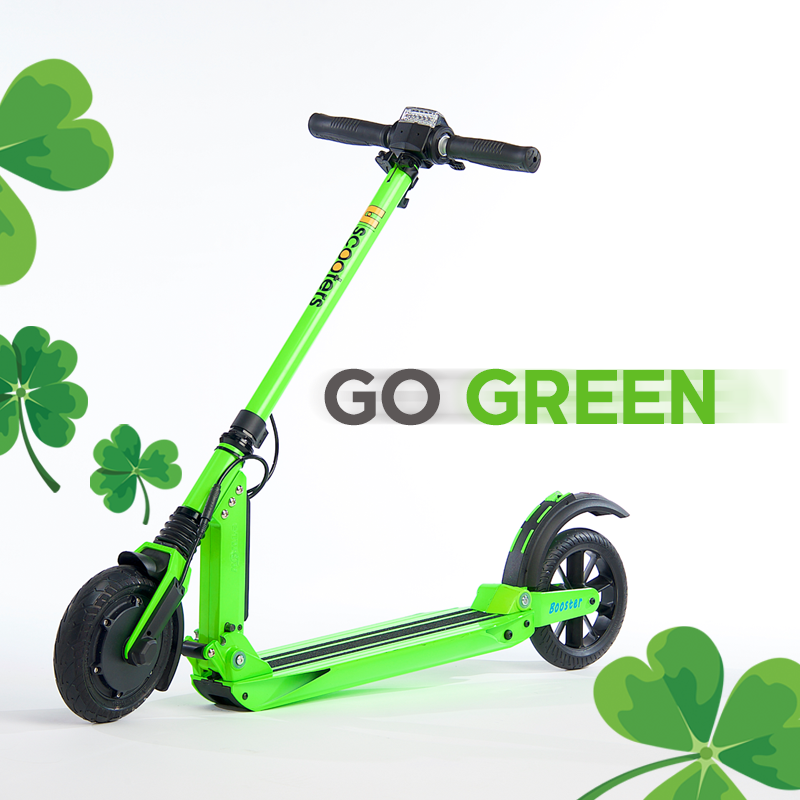 We Re All Dressed In Green Today Stpatricksday Gogreen Rideuscooters Uscooters Com Folding Electric Scooter Electric Scooter Go Green
