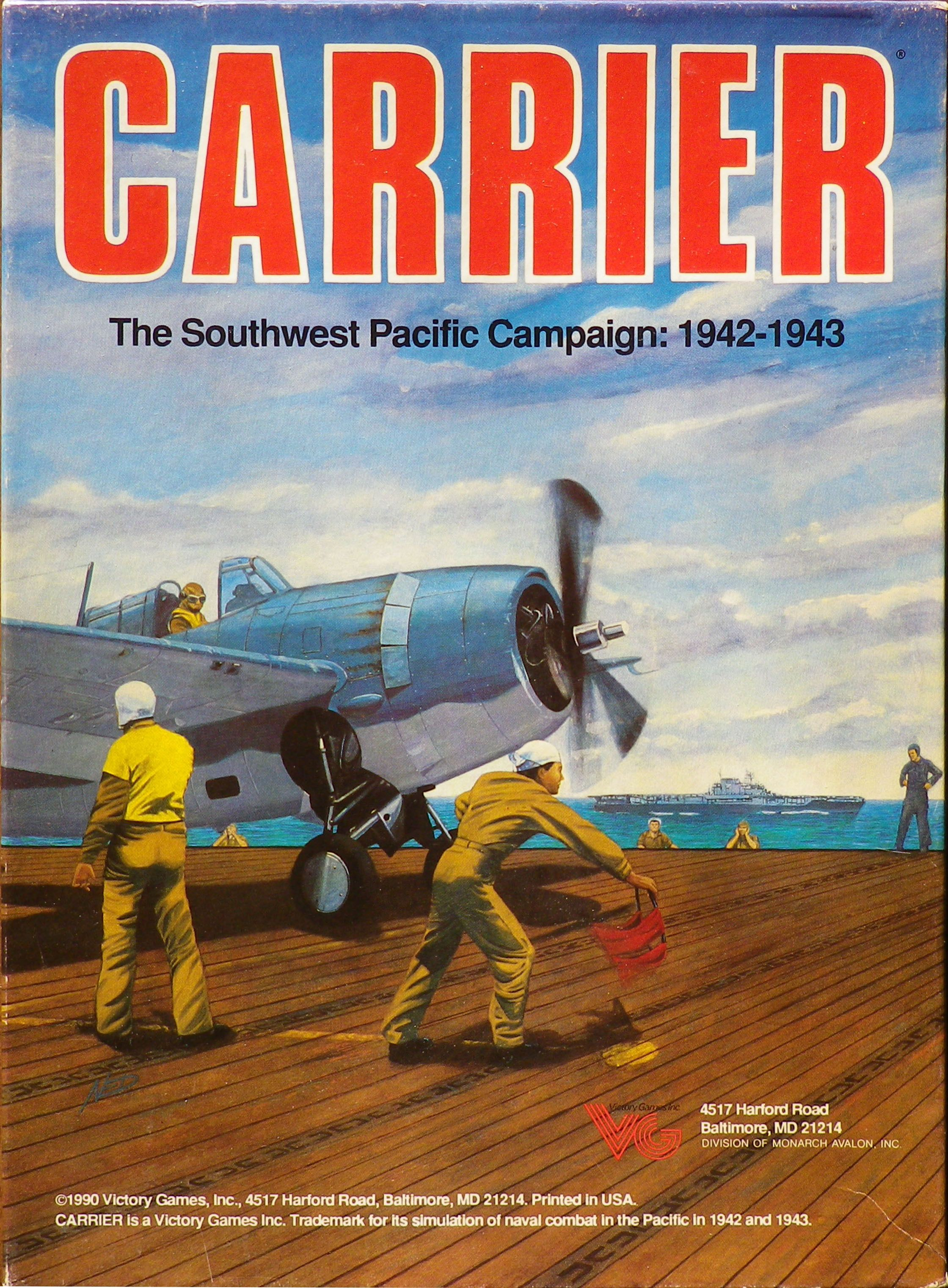 Carrier Strategy board games, Carriers, Games