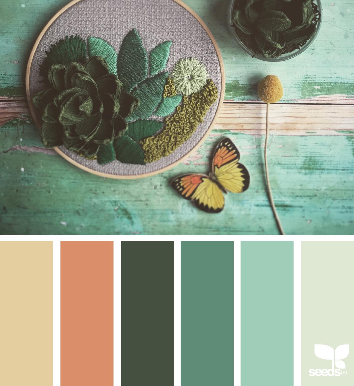 Botanical Hues Colours House Color Schemes Bedroom