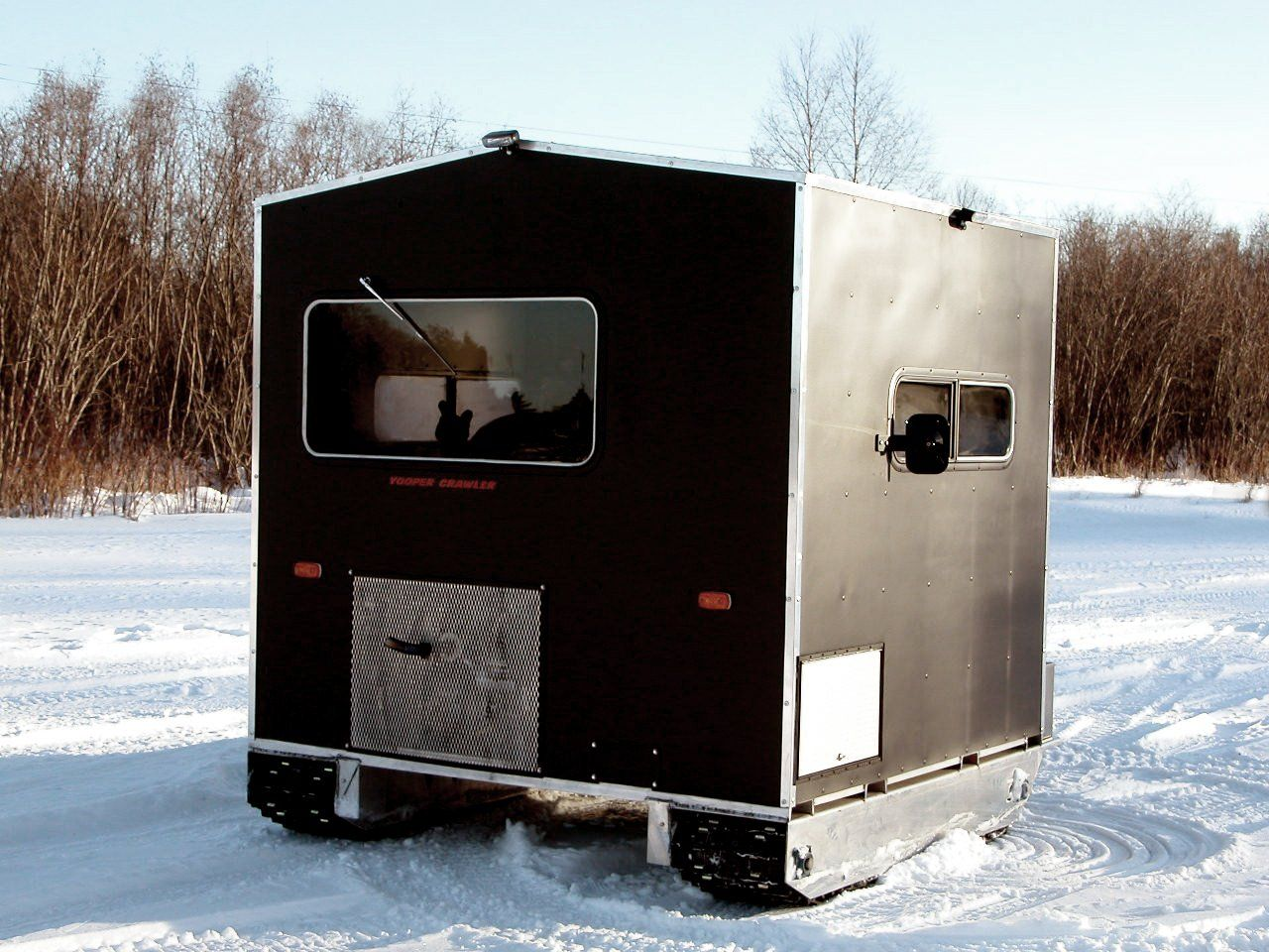 YOOPER CRAWLER A self propelled ice fishing shanty | Rays ...