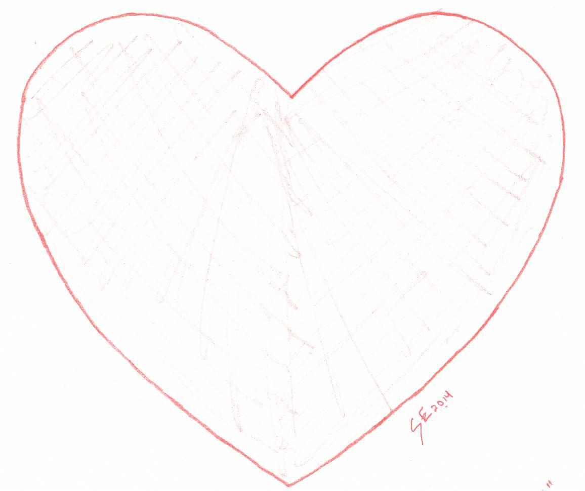 """""""I Heart U"""" Applique Design for Wool Diaper Covers (Copyright Chickadee & Me)  www.chickadeeandme.com"""