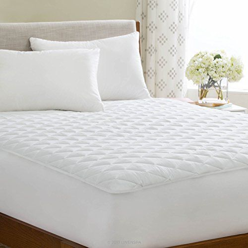 Linenspa Waterproof Quilted Mattress Pad With
