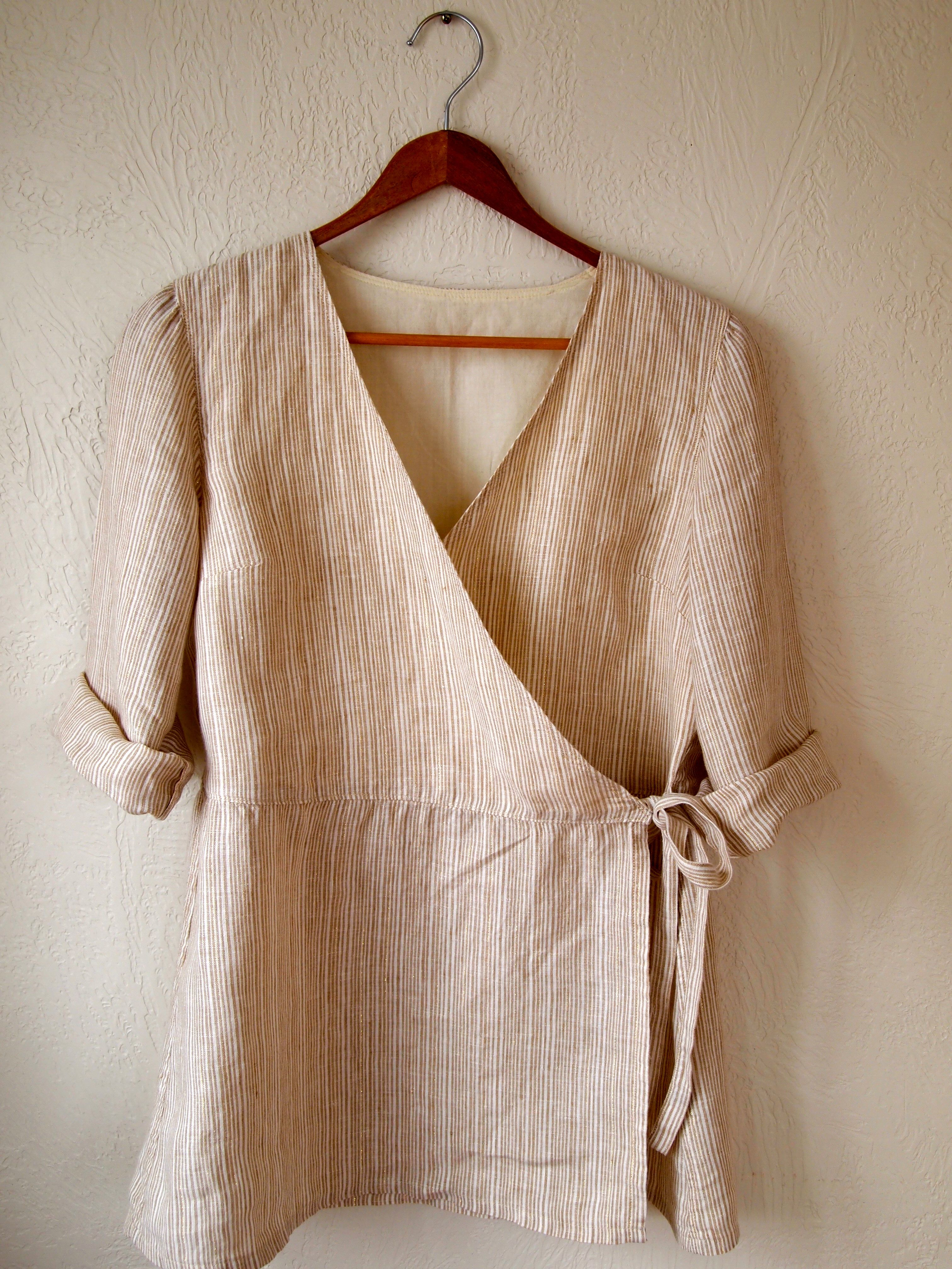 Linen Shirt Pattern From Simple Modern Sewing Sewing