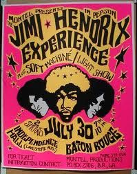 jimi hendrix concert posters - Google Search
