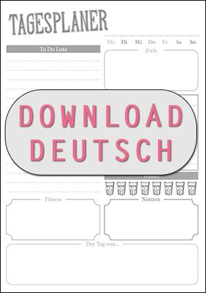 Tagesplaner Zum Kostenlosen Download Fur Alle Filofaxer Paper Girls Und Die Die Einfach Organisierter Leben Wollen Planer Tagesplan Kalender Organisation