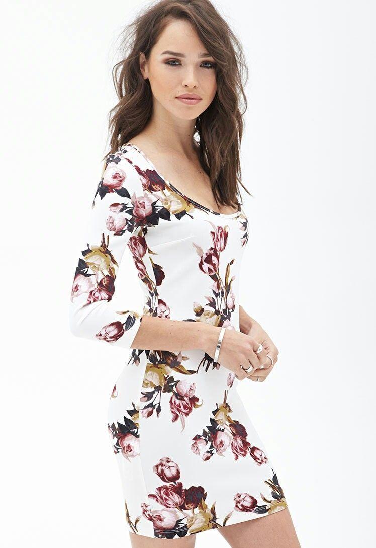 Vestido Floreado Dresses Knit Dress High Quality Dress