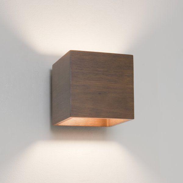 1067001 Cremona Single Light Wall Fitting Walnut Wood Finish Wooden Wall Lights Indoor Wall Lights Wall Lights