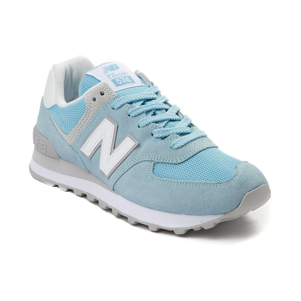 new balance 574 classic light blue
