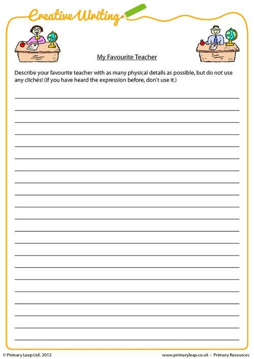 This Ks2 Resource Requires Children To Write An Essay About Their