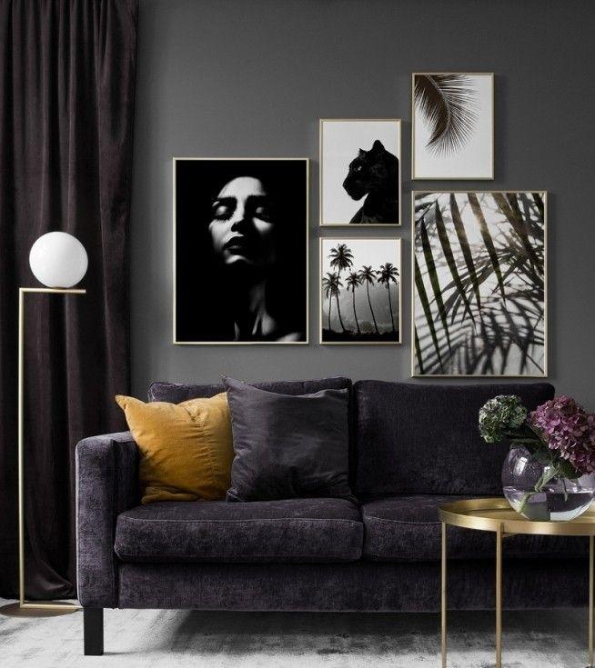 Wohnzimmer Dunkle Möbel: Dunkle Wohnzimmer