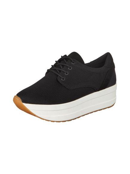 best service c8216 97878 VAGABOND Plateau-Sneakers mit Kontrastsohle in Grau ...