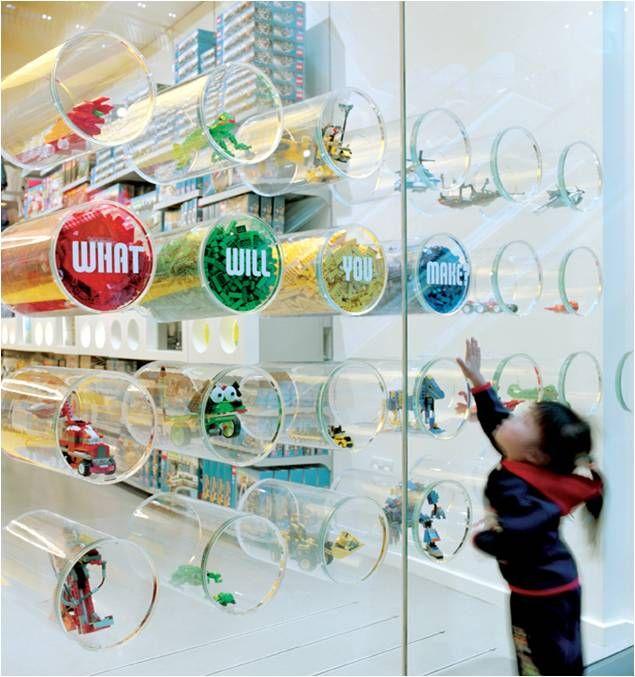 SHOPLIFTER initial encounter of entry: Shopwindow, Lego Store ...