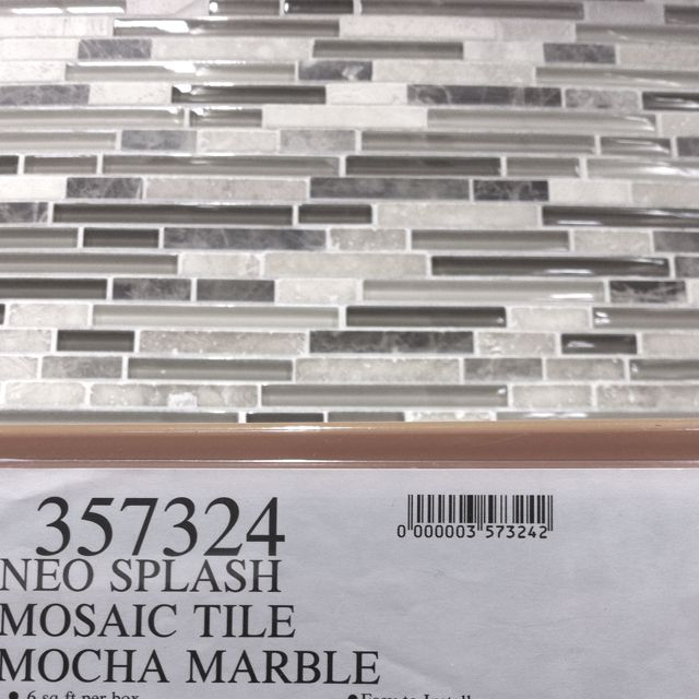 Costco Backsplash Kitchen