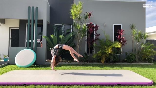 Air Track Gymnastics Mat Zoo