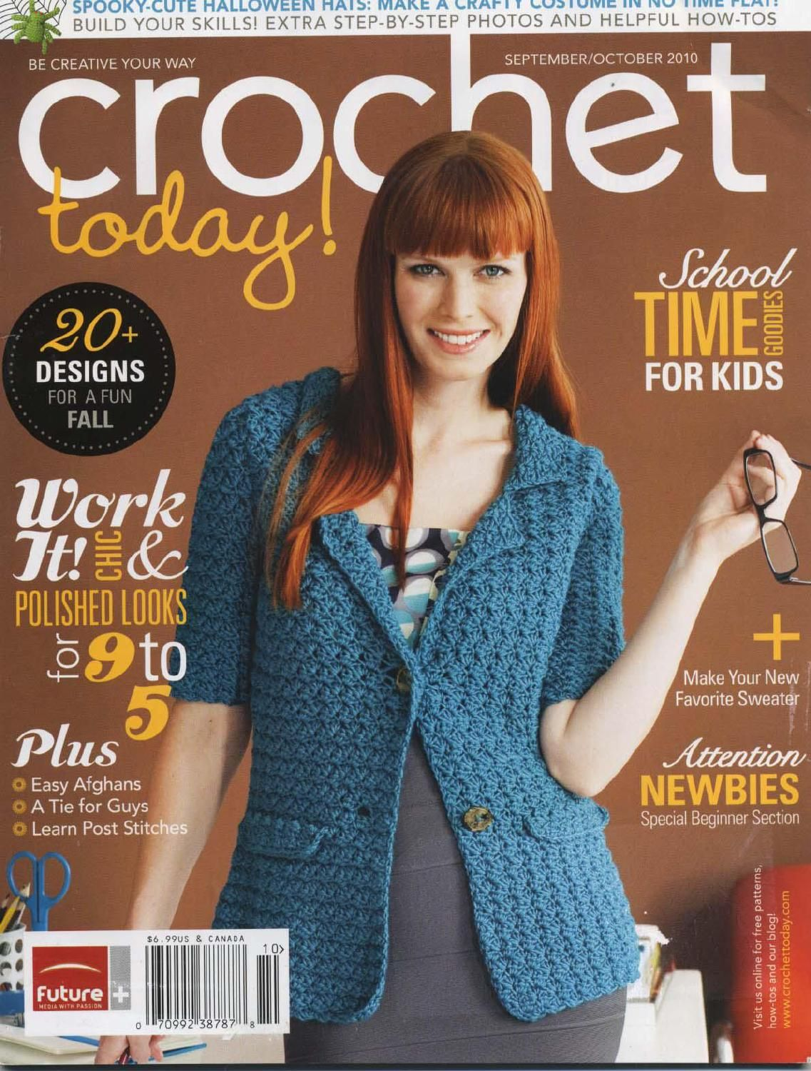 27 crochet today! sept oct 2010 | Knit/Crochet Magazines and Books ...