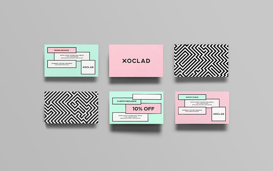 Xoclad | Business cards, Business and Brand identity