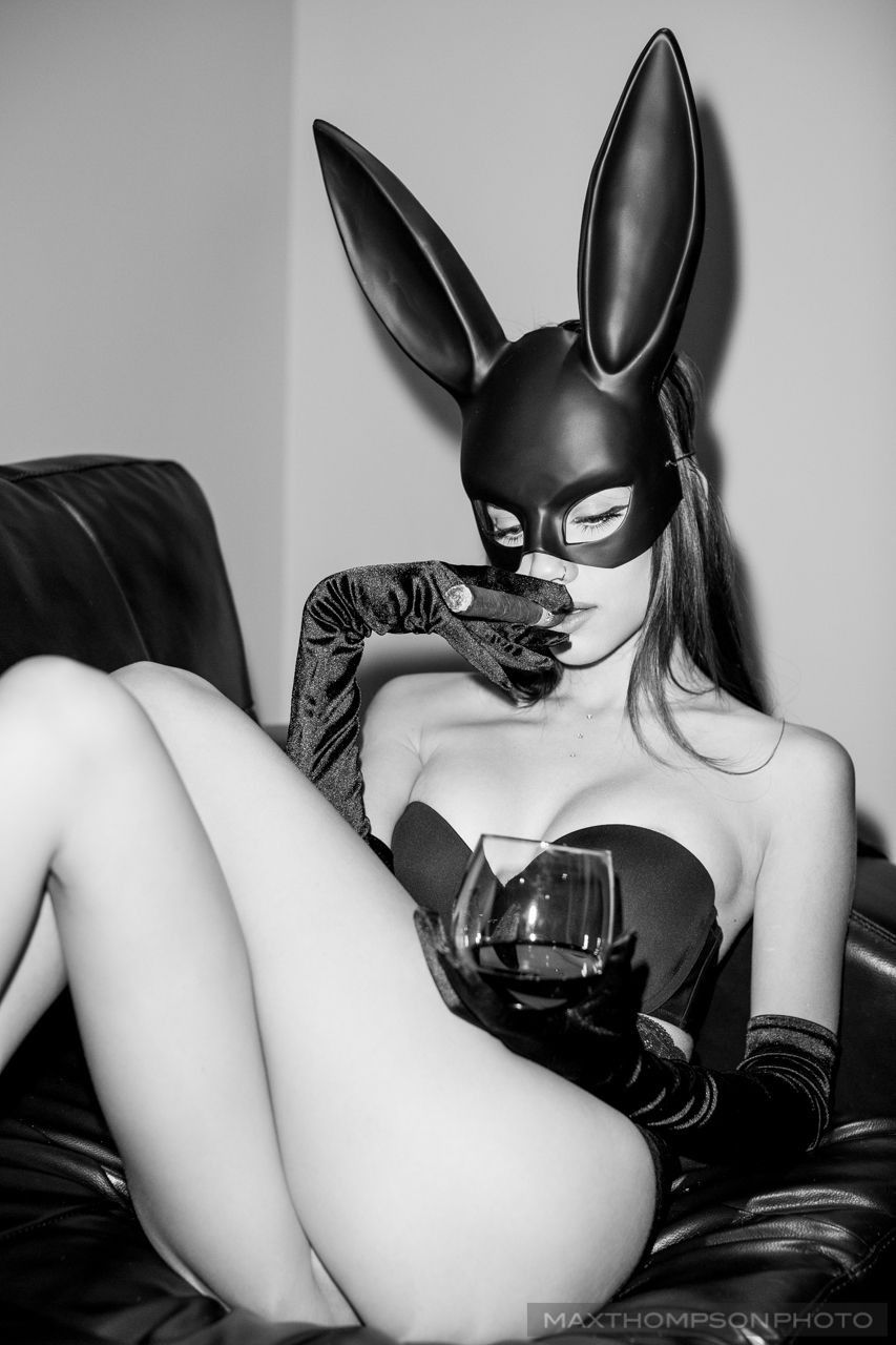 Bunnies flirtation with intoxication…