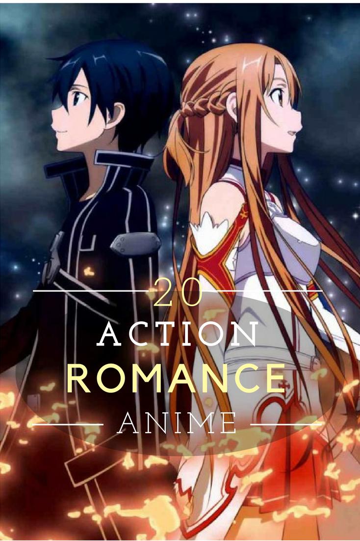 Top 20 Action Romance Anime Top action romance anime