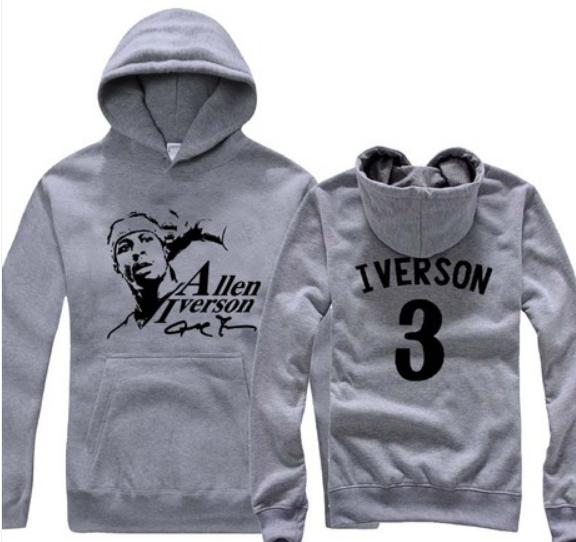 best service b72b5 4b3ce NBA allen iverson hoodie sweater C | Jewelry