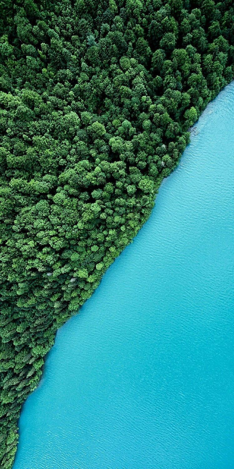 Drone photography of natural beauty Photography of