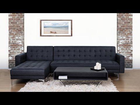 Sofa Bed Corner Sofa Upholstered Anthracite Aberdeen Corner Sofa Living Room Furniture Collections Corner Sofa Bed