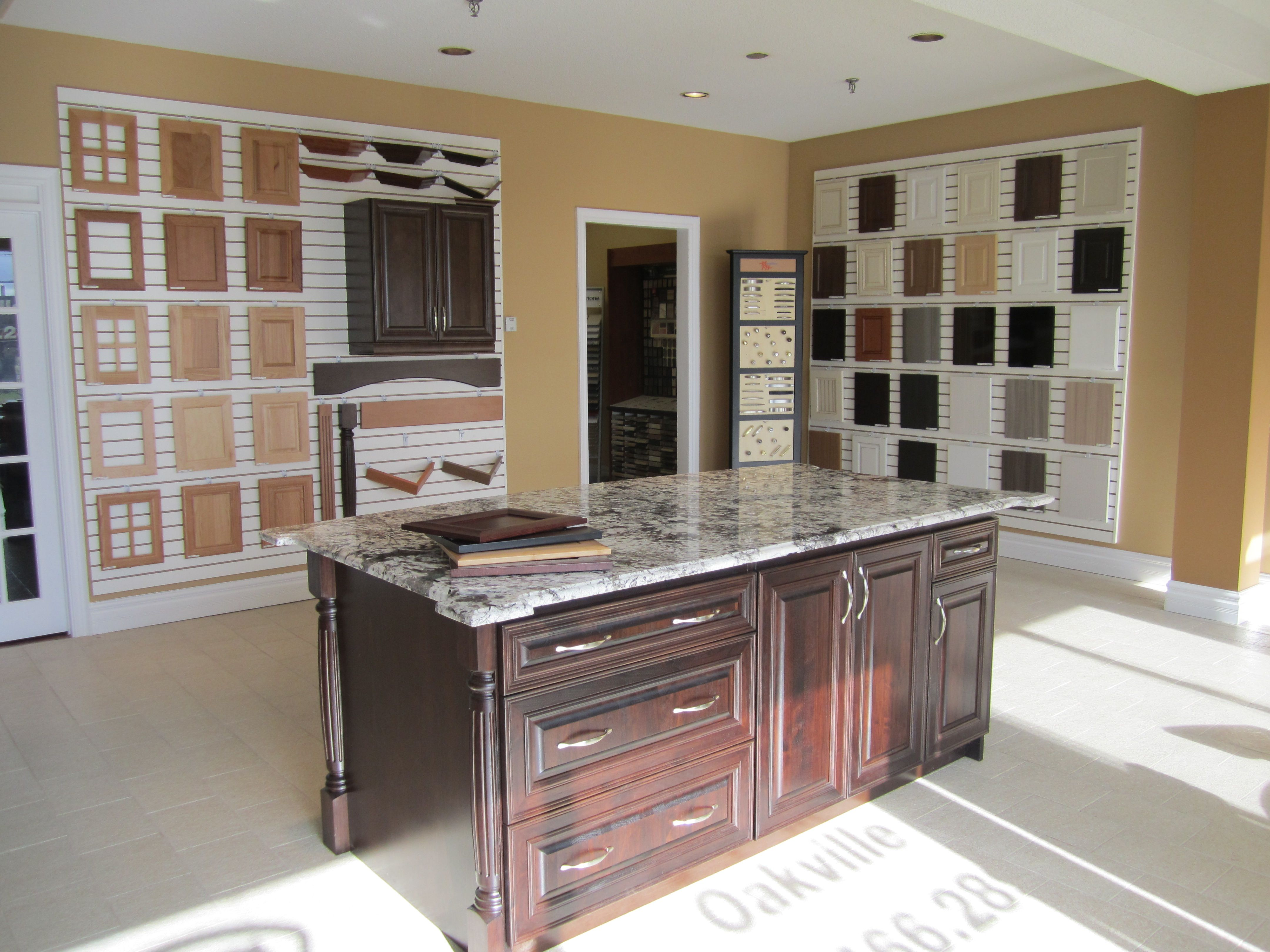 One one our showrooms in the GTA. Techno Kitchen Refacing Vaughan ...
